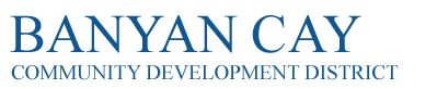 Banyan Cay Community Development District Logo